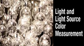 Light and Light Source Color Measurement Webinar